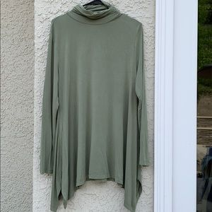 Soft Surroundings Timely Turtleneck Tunic Top PXL